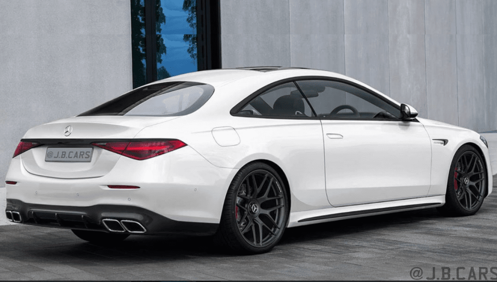 Mercedes S coupe 2021